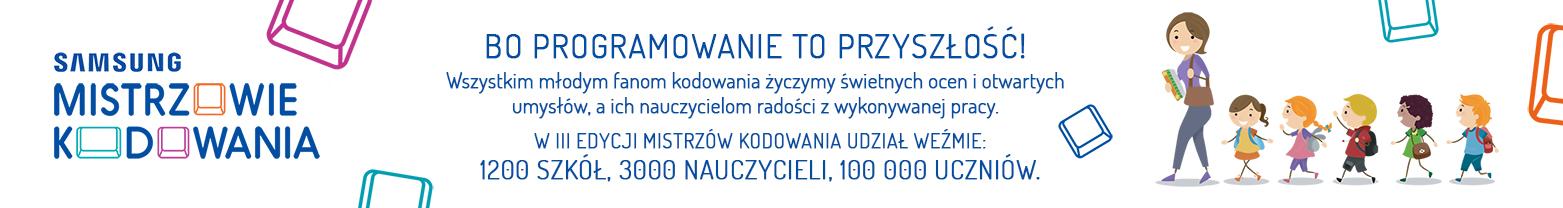Bo programowanie to przyszłość - www.MistrzowieKodowania.pl